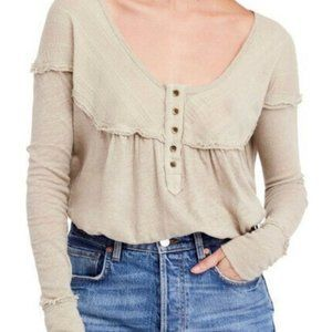 We the Free People Womens Down Under Button front